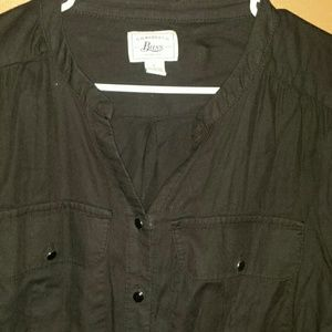 Women's bass button shirt